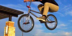 Bunny Hop a BMX Bike